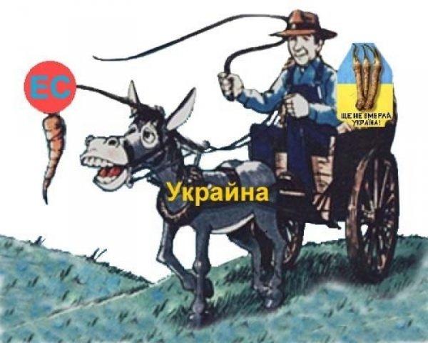 Европа - украинцам: Добро пожаловать, бесправные хитрованцы! Заявление от киевского сопротивления