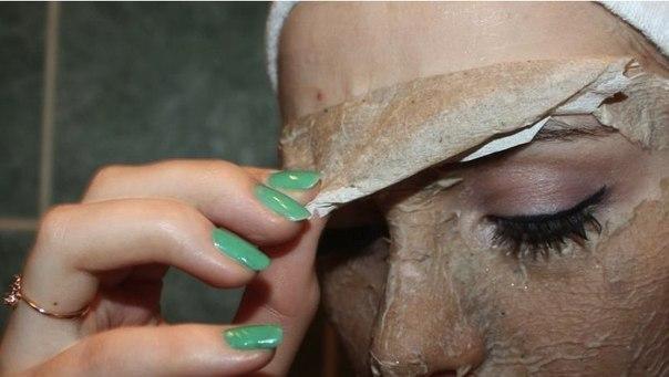 Яичная маска-пленка. Отличная альтернатива очищающим полоскам!