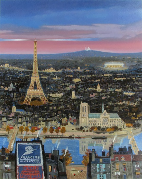 Эйфелева башня. Автор: Michel Delacroix.
