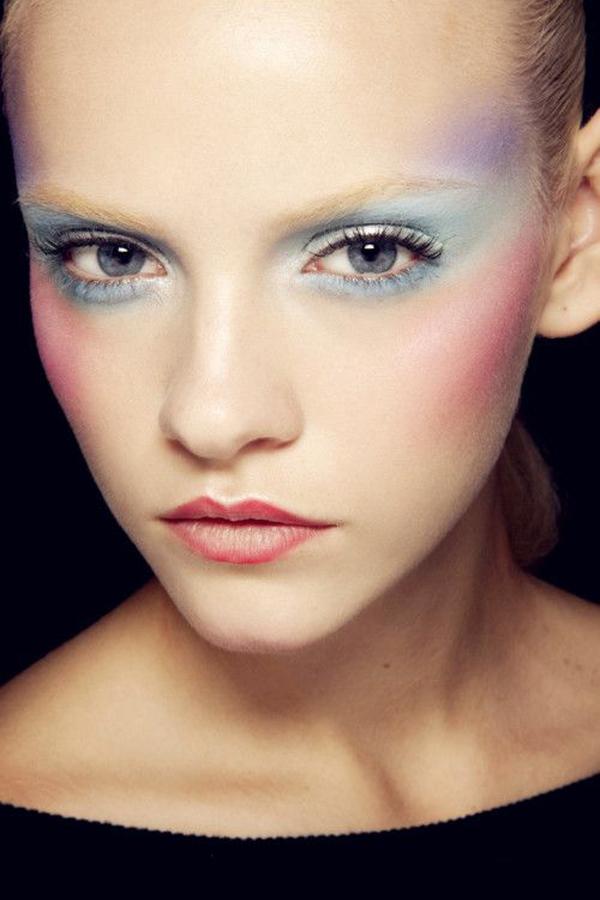 Пастельные тона в макияже