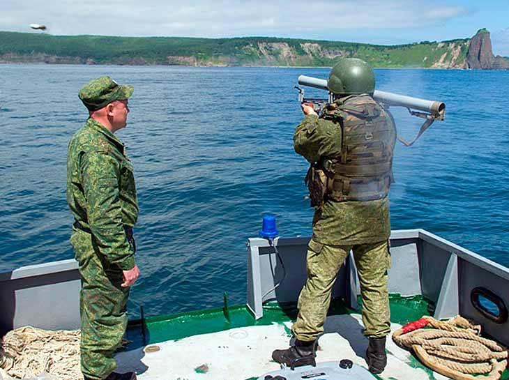 В РФ созданы новые гранатометные выстрелы для поражения подводных диверсантов