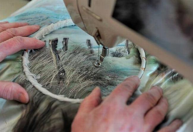 Вышивка по фотографии (8 фото)