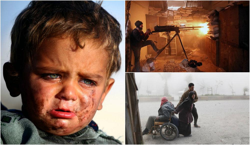 Фотографии, сделанные в Сирии
