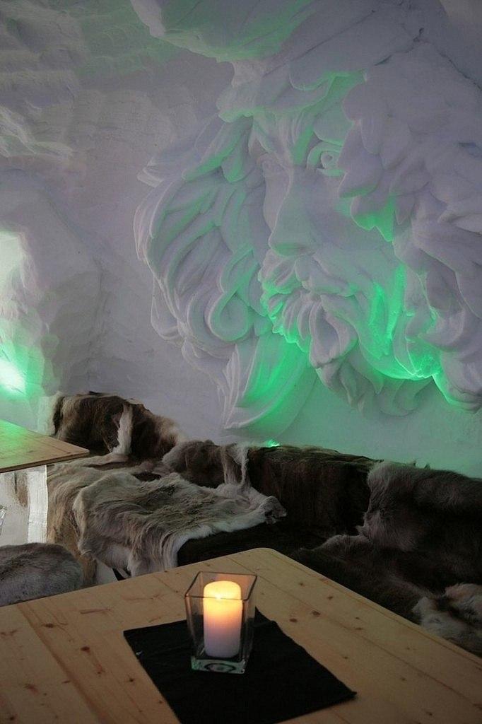 Альпийский снежный отель Iglu-Lodge