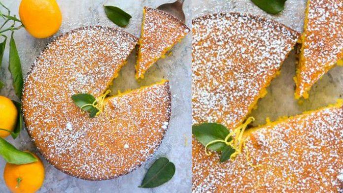 Лучший праздничный десерт — пирог с мандаринами