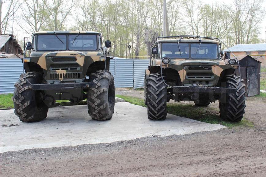 Вездеход, созданный на базе ГАЗ-66