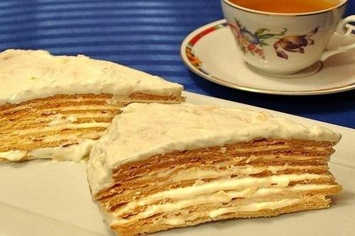 "Французский торт ""Парижский коктейль"""