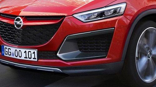 Opel выпустит два новых кроссовера
