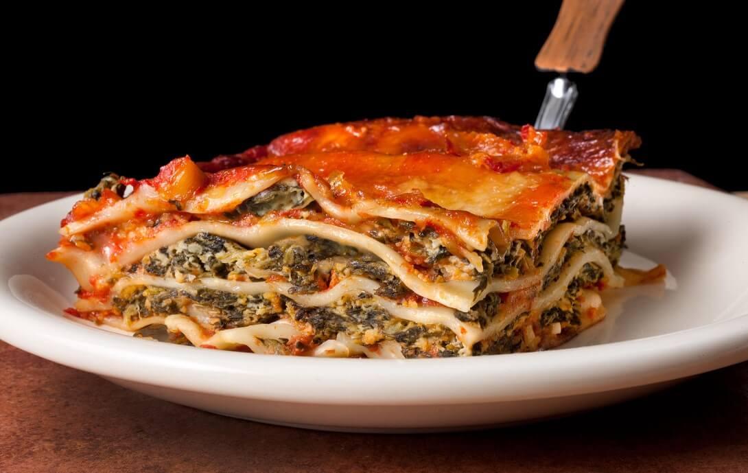 Лазанья: пицца  и паста в одном флаконе
