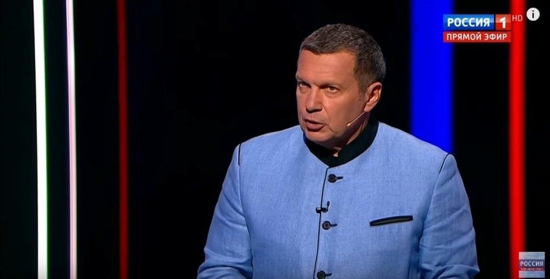 «С какой пьяной радости?»: Соловьев объяснил американцу, почему РФ не будет слушаться США