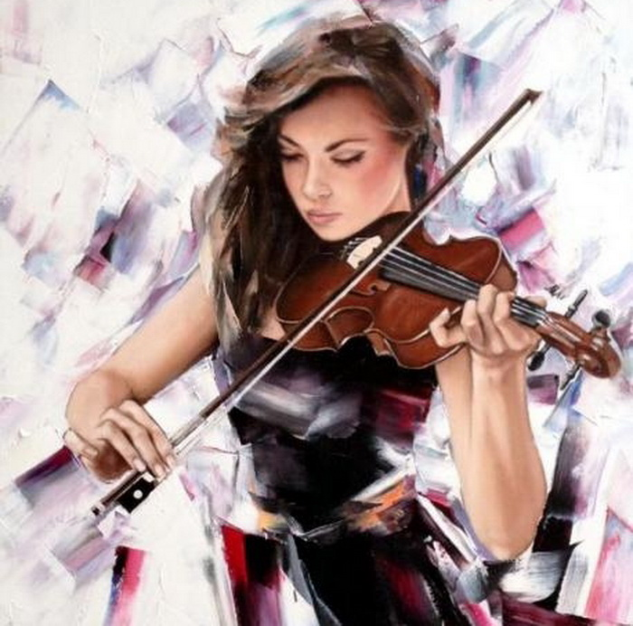 Музыки дыхание... Женские образы в творчестве Александра Гунина