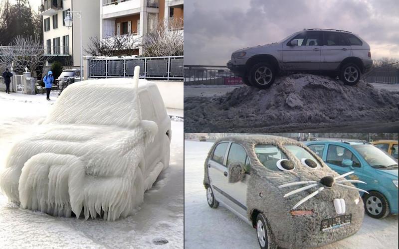 Собачий холод! Поймет тот, кто водит зимой