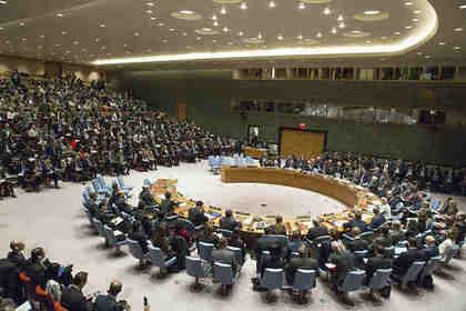 Совбез ООН потребовал соблюдать перемирие на востоке Украины