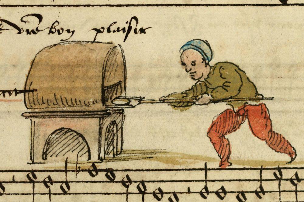 средневековая дичь миниатюры