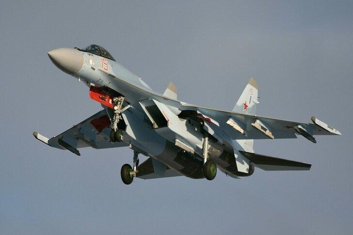 Новые Су-35С для ВКС России Хорошие, добрые, новости, россия, фоторепортаж