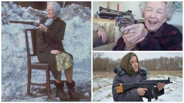 У таких бабушек не забалуешь