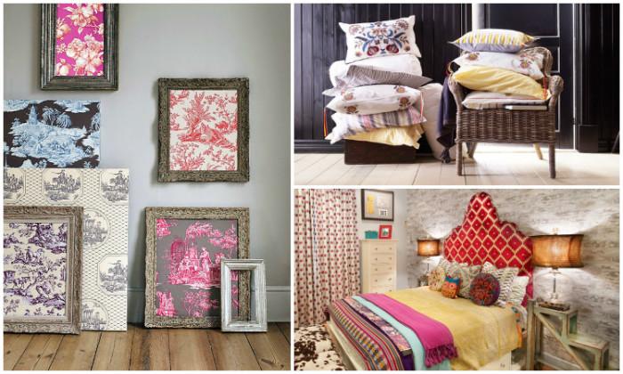 15 нестандартных идей, как с помощью текстиля создать уютный домашний интерьер