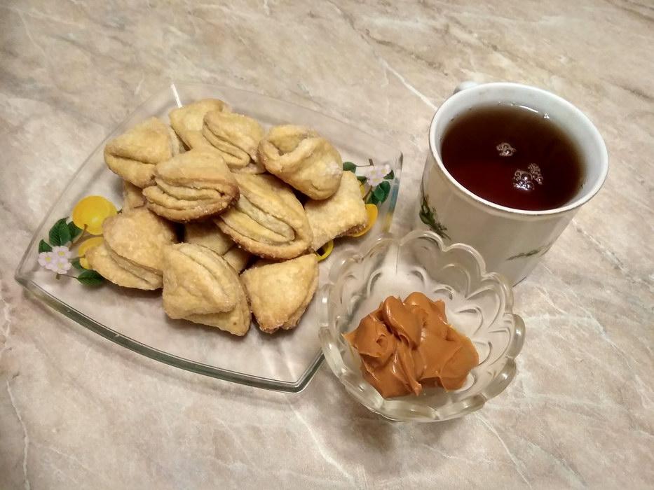 Гусиные лапки - печенье из детства