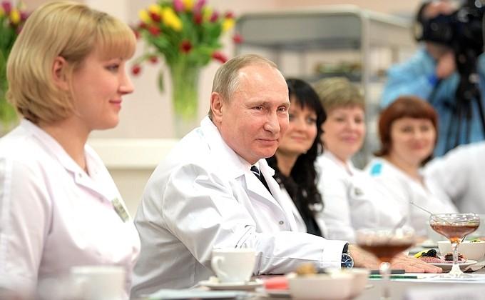 Владимир Путин: России нужна современная система здравоохранения