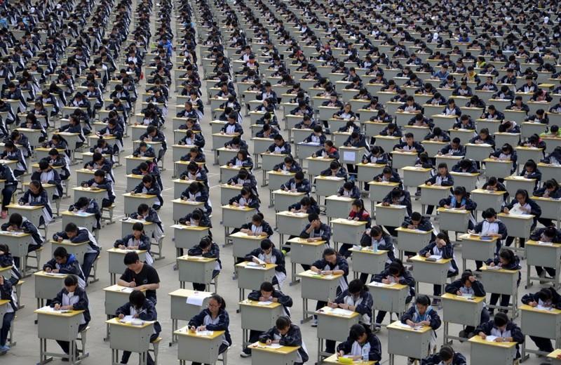 Шокирующие фотографии о том, насколько много людей в Китае