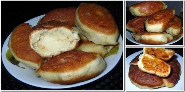 Пирог в духовке на кефире без яиц рецепт