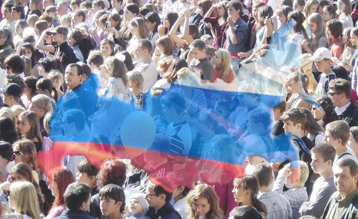 С начала года население России увеличилось на 214,6 тыс. человек