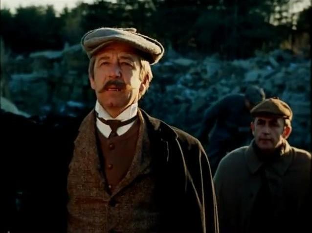 """Ни у кого из нас нет сомнений в том, что Борислав Брондуков со своим узнаваемым голосом играет в """"Шерлоке Холмсе"""" инспектора Лестрейда.  Актеры дубляжа, СССР, актеры, чтобы помнили"""