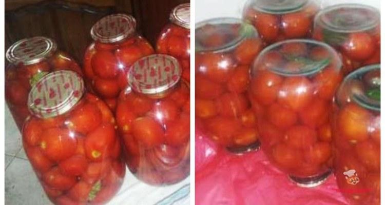 Рецепт вкусных помидор на зиму без зелени