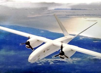 Первые фото полета новейшего российского БПЛА «Альтаир»