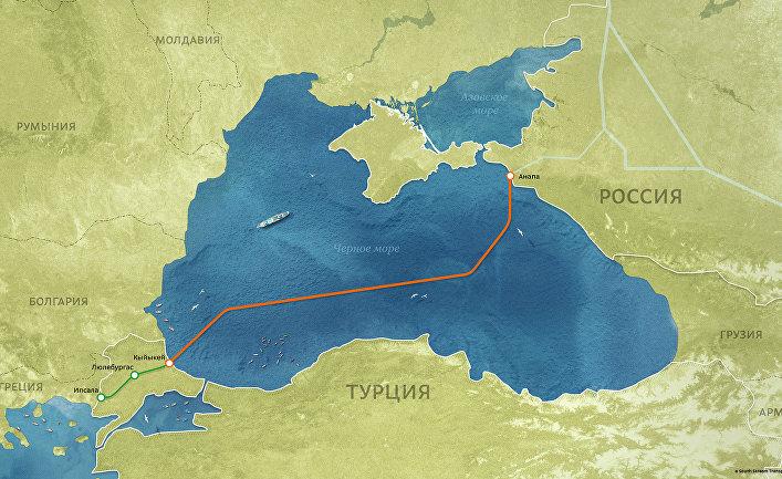 Повлияют ли санкции США на проект «Турецкий поток»?