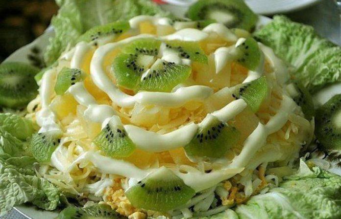 Невероятно красивый и вкусный салат «Хелел»
