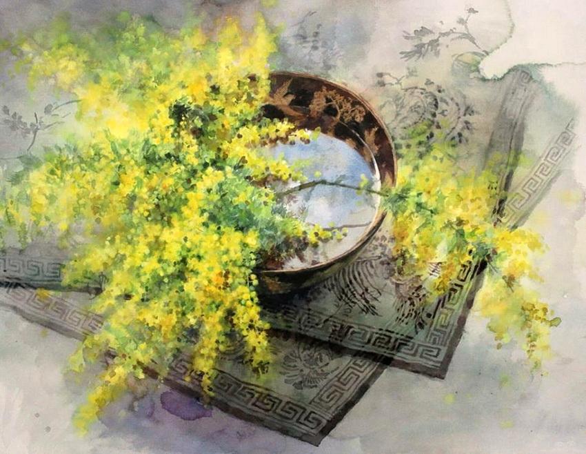 """""""На руке, дарящей розы, всегда останется их аромат""""... нежнейшие акварели Yuko Nagayama"""