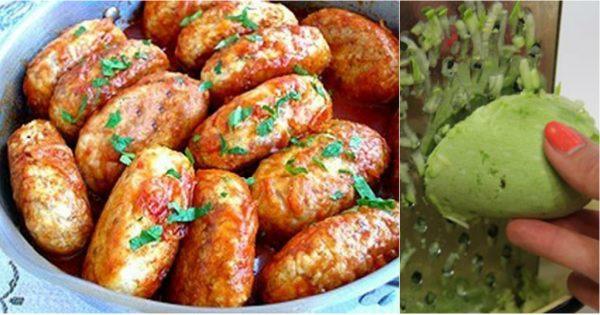 Вкуснятина из кабачка: пышные котлеты к ужину.