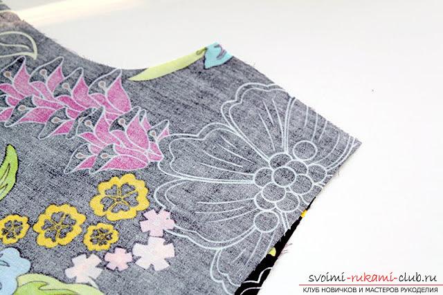Пошив платья для дочки своими руками по инструкции с фото. Фото №12