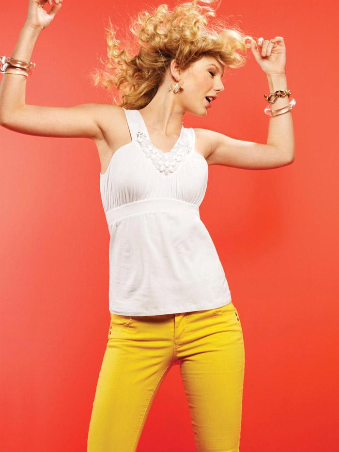 Тейлор Свифт (Taylor Swift) в фотосессии Стюарта Шайнинга (Stewart Shining) для журнала Self (март 2009)