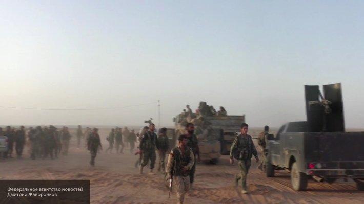 Сирийская армия при поддержке ВКС РФ охотится на боевиков ИГ* близ Аль-Ашаера