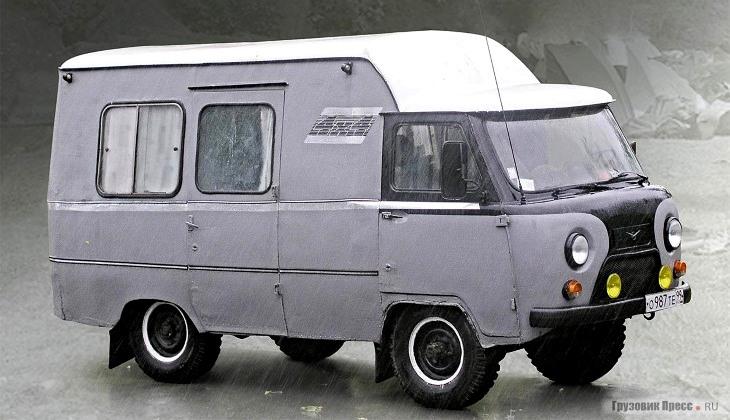 Автодом на базе УАЗа: мечта советского автотуриста
