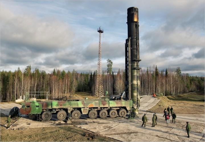 Минобороны рф: ракета тополь-м успешно поразила цель