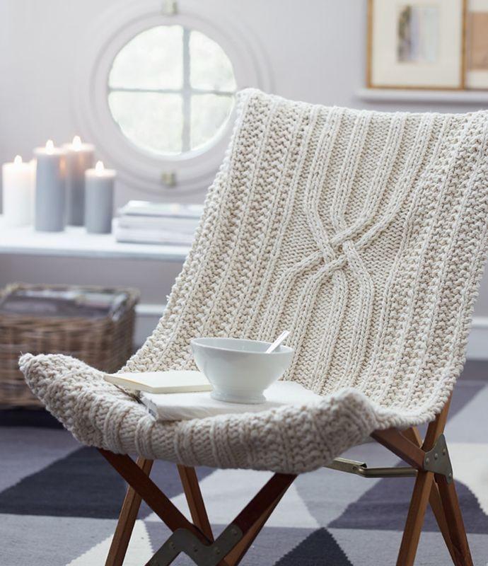 Вязаные кресла