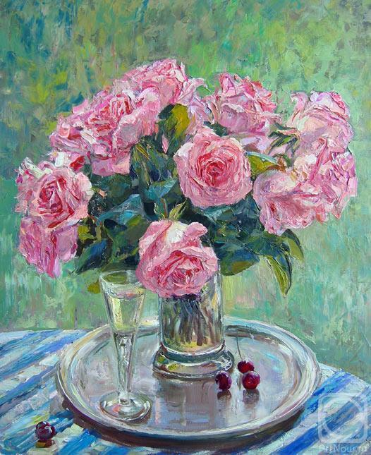 Лукьянов Виктор. Букет роз