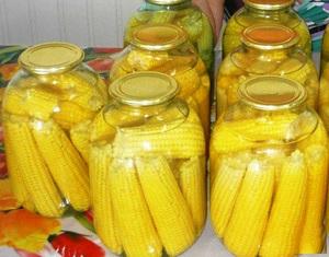 Консервирование кукурузы