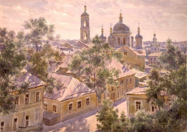 художник Сергея Анрияка картины 2 -10