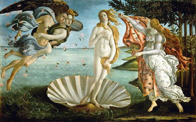 Как Афродита  помогла Пигмалиону