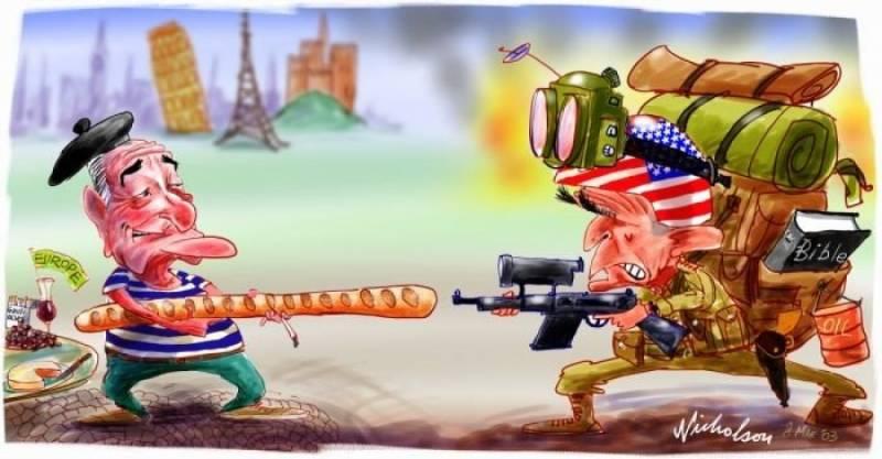 Конец эры американских ультиматумов. ЕС и Россия объединились против США