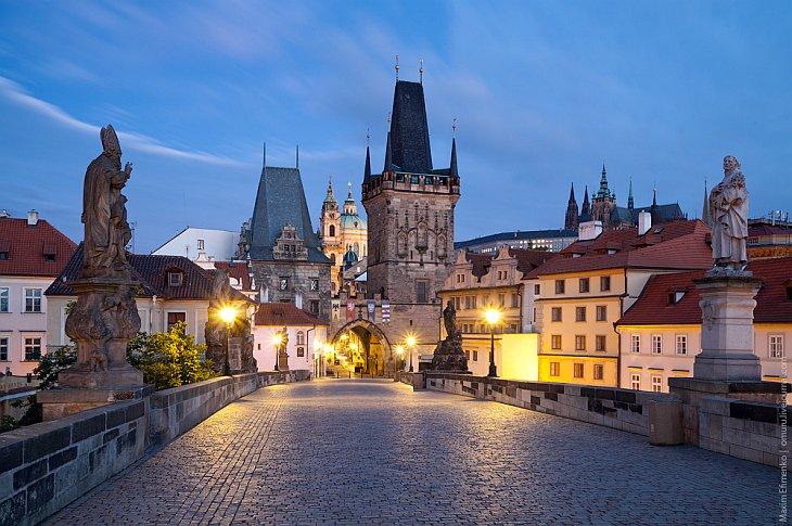 Прага, жемчужина Чехии