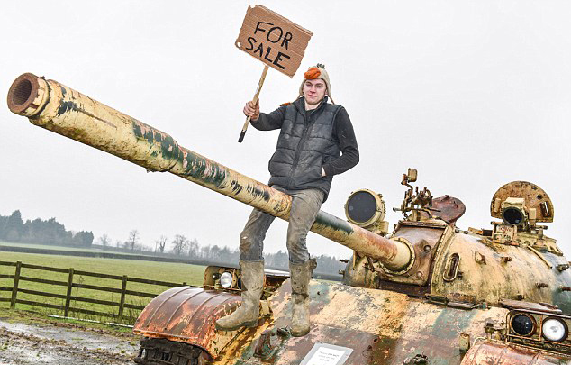 На аукционе eBay продаётся китайский танк Type 69