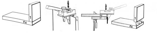 Кондуктор для шкантов чертежи