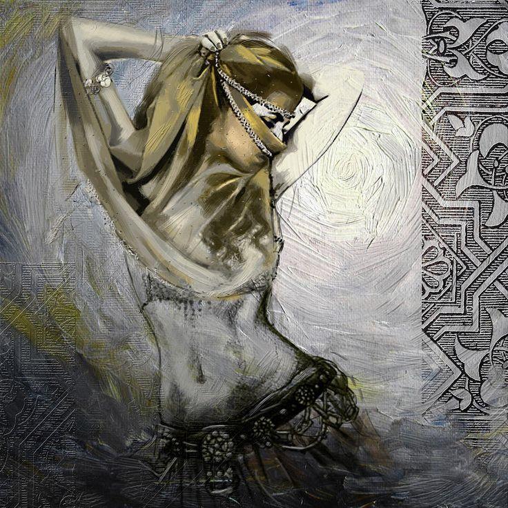 Красивые работы художницы Махнур Шах