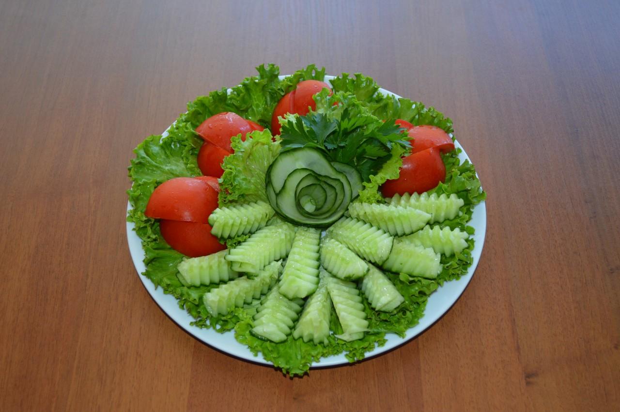 Овощные нарезки фото мастер класс