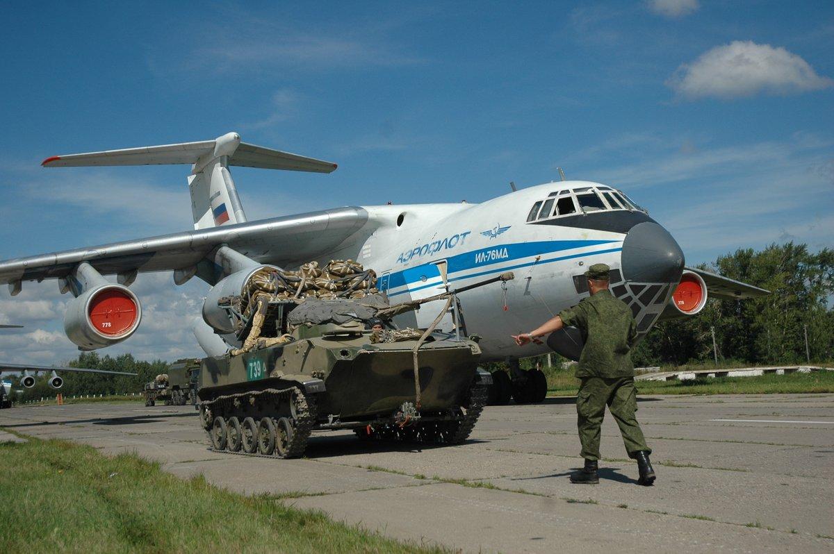 Цифровая разгрузка: новая погрузо-разгрузочная система транспортного самолета Ил-76МД-90А